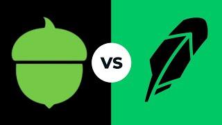 Acorns VS Robinhood Aṗps Comparison And Review(2021)