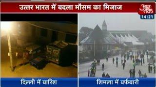 Welcome winter: Shimla gets season