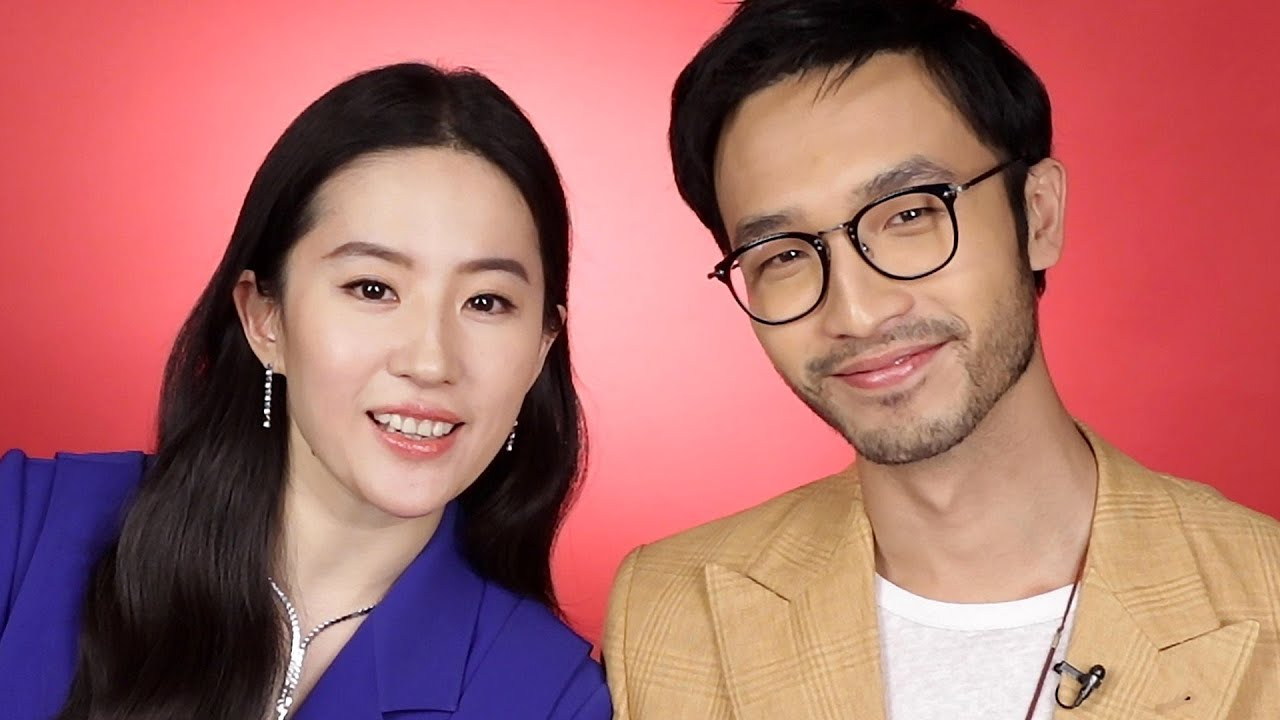 """Download """"Mulan"""" Stars Liu Yifei and Yosan An Find Out Which Disney Princess Combos They Are"""