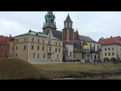 Wawel Royal Castle in Kraków, Poland