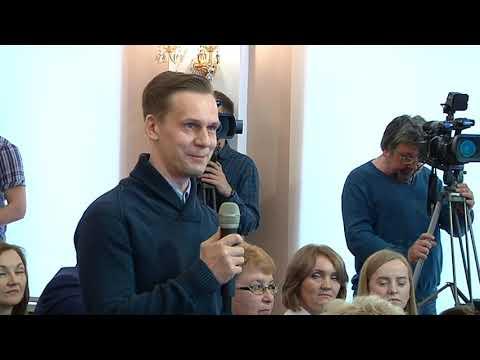 Роман Старовойт ответил на вопросы журналистов