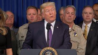 Trump visits Las Vegas in wake of mass shooting