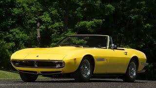 Lot S121 // 1969 Maserati Ghibli 4.9 Spyder // Mecum Monterey 2016 thumbnail