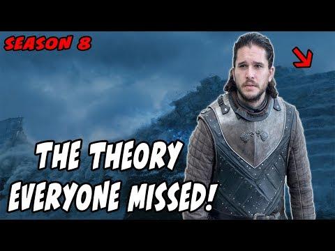 The Season 8 Jon Snow Theory EVERYONE Missed!