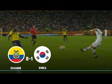 Ecuador vs Corea del Sur: resumen y gol semifinal Mundial Sub-20 Polonia 2019