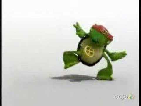 Dancing And Singing turtle - Gasolina