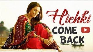 "Confirmed! ""rani mukerji"" confirms comeback with hichki | yash raj films"