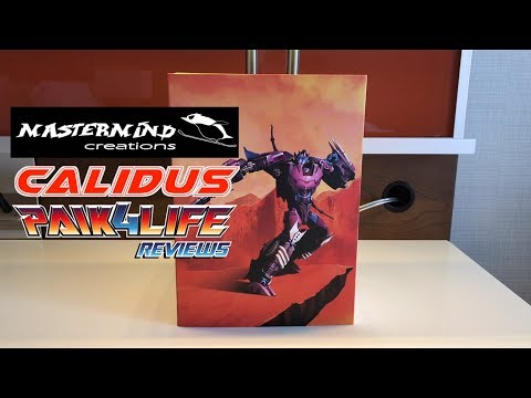 Transformers Review: Mastermind Creations R-27AM Calidus Asterisk Mode // P4L Reviews