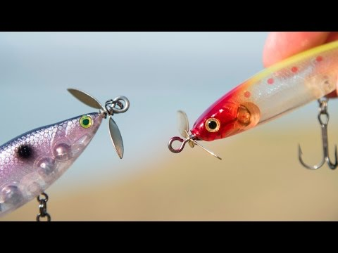 Fishing Lures with Propellors? - MTB Pro Unboxing October