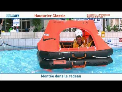 Liferafts On Test - 6 Man SeaSafe Liferaft