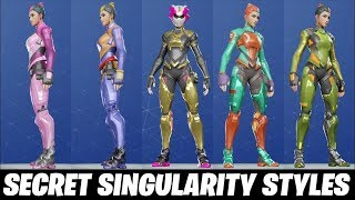 HOW TO UNLOCK THE 5 NEW SECRET SINGULARITY TRAJES IN FORTNITE