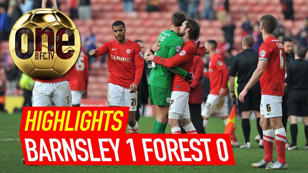 Barnsley 1 Nottingham Forest 0 Highlights