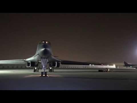 B-1 Crew Stepping/Take Off