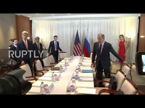 Switzerland: Lavrov and Kerry hold Syria talks in Geneva