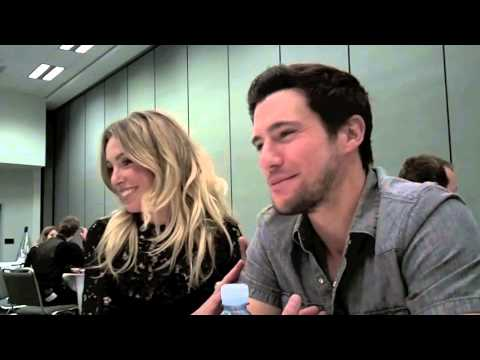 Sarah Carter Drew Roy FALLING SKIES Interview WonderCon