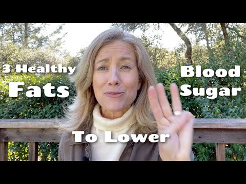 3 Healthy Fats For Blood Sugar Balance