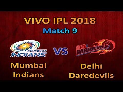 Mumbal Indians vs Delhi Daredevils Playing 11 IPL 2018     MI vs DD IPL 2018