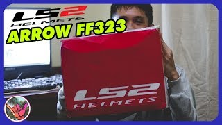 UNBOXING HELM LS2 ARROW FF323