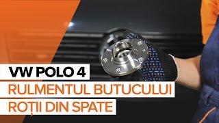 Cum se inlocuiesc rulmentul butucului roții din spate pe VOLKSWAGEN POLO 4 TUTORIAL | AUTODOC