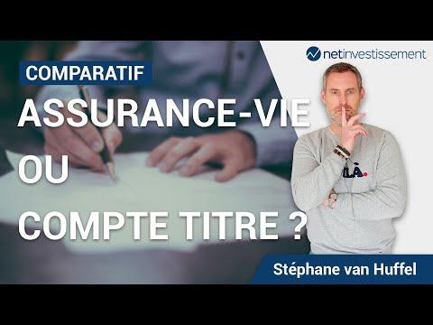 Comparatif : assurance vie ou compte titre ? [Vidéo BFM]
