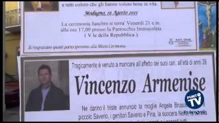 Lutto cittadino a Modugno, alle 17 i funerali dei Bruscella