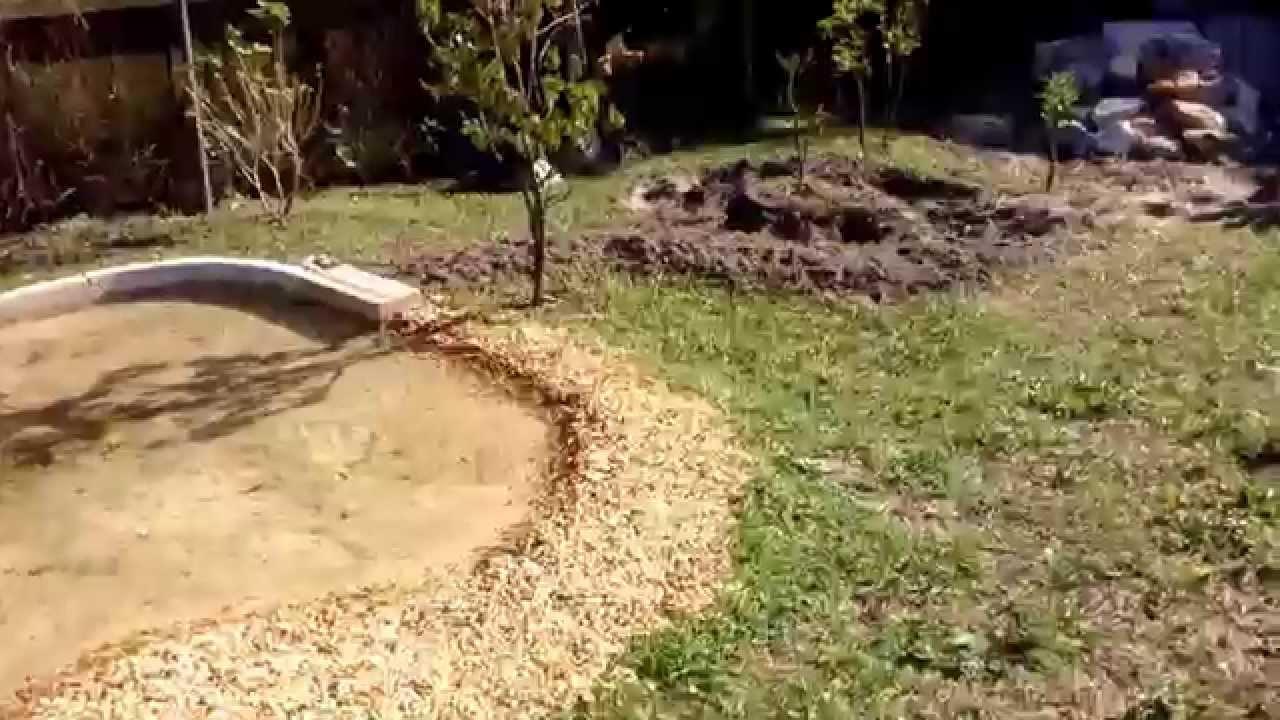 backyard rc scale crawler trail course youtube
