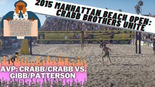 2015 AVP Manhattan Beach Men