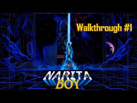 Narita Boy - Masterpiece - Walkthrough #1 - No Commentary - Spanish Dialogs - IDC Plays