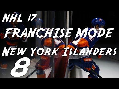 NHL 17 FRANCHISE MODE New York Islanders  EP8-- BlockBuster Trade