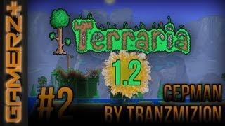 [Gamerz+] Terraria 1.2 Multiplayer CZ Let's play   2.Díl - Tranzík má roupy!   1080p