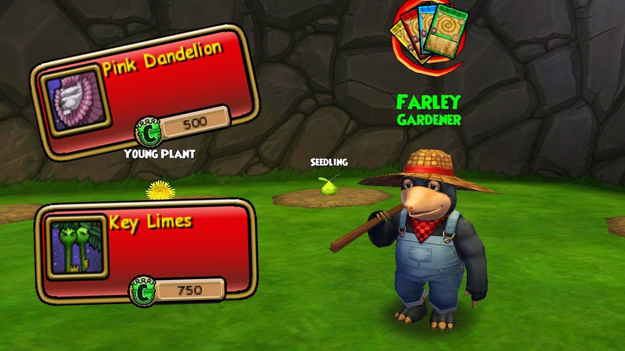 Wizard101: How to Start Gardening from Rank 0 (Beginner's Guide)