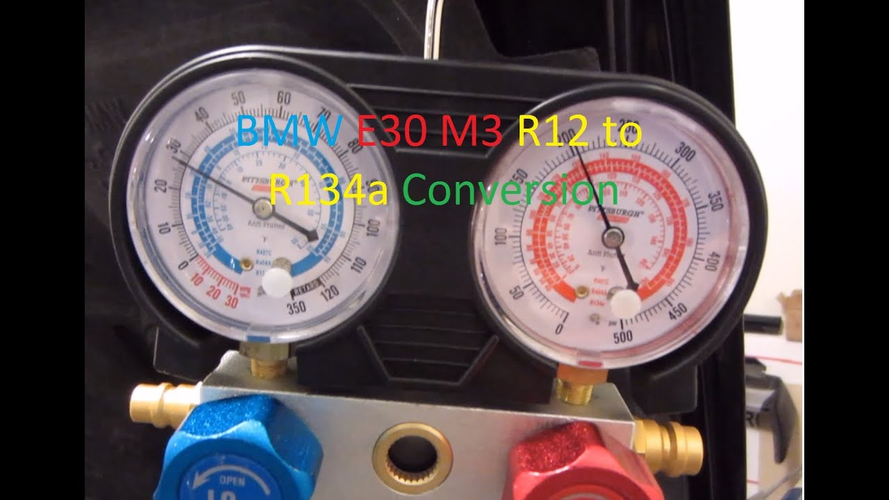 E30 M3 R12 to R134a A/C Conversion