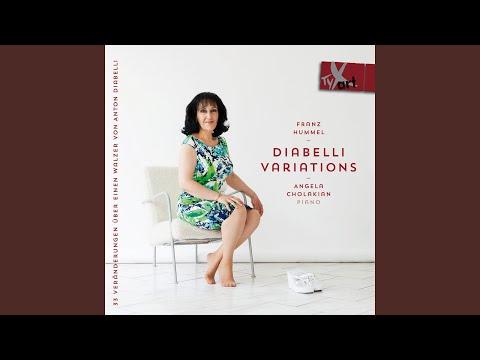 33 Veranderungen uber einen Walzer von Anton Diabelli: Variation 3: Adagio cantabile