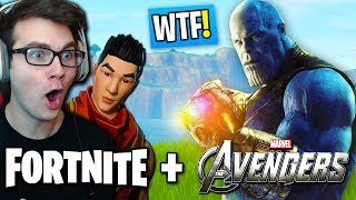 FORTNITE SQUAD REACTS TO *NEW AVENGERS MODE* IN FORTNITE! (HILARIOUS JAPANESE PLAYER)