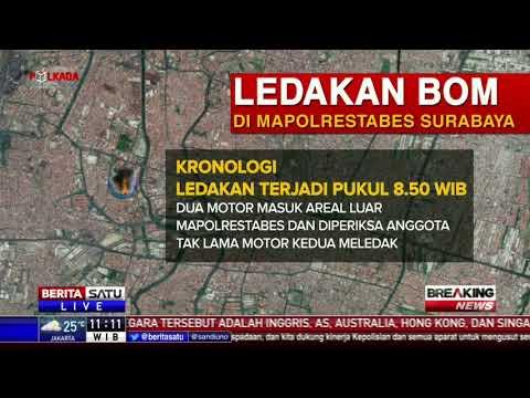 Kronologi Ledakan Bom Mapolrestabes Surabaya