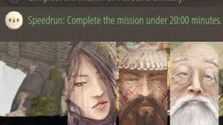 "Shadow Tactics PS4 Speedrun: Mount Tsuru ""Escape From Mount Tsuru"" Mission 4"