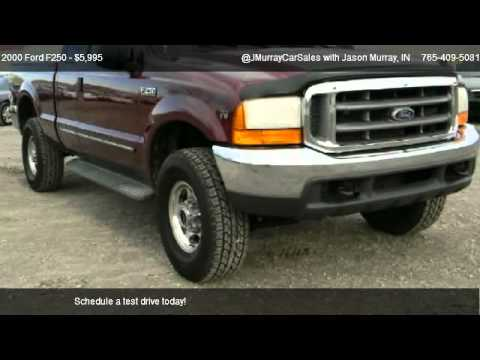 F250 Short Bed For Sale >> 2000 Ford F250 Short Bed For Sale In Lafayette In 47905