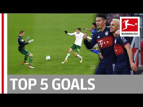Ribery, James Rodriguez and More - Top 5 Goals on Matchday 21
