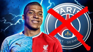 Kylian Mbappe To Join Liverpool Or Manchester City After CONFIRMING PSG Exit?! | Euro Transfer Talk