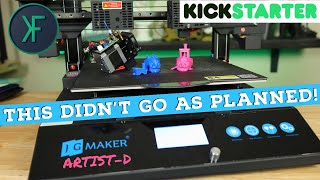 JGMaker Artist-D IDEX 3D Printer: Deconstructed!