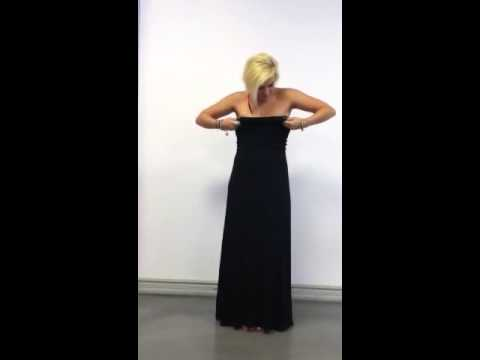 Ofra Style how to wear convertible: long dress/ skirt