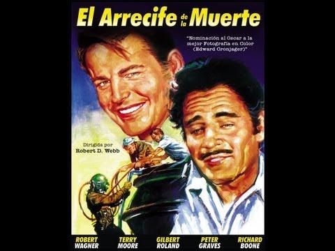 EL ARRECIFE DE LA MUERTE (Beneath The 12 Mile Reef, 1953, Full Movie, Spanish, Cinetel)