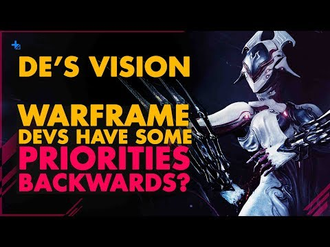 LET'S TALK||  Are Developer Priorities Backwards, Now With Warframe? thumbnail