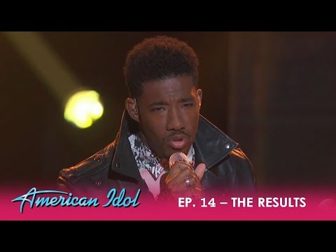 Marcio Donaldson: Battles For A Spot In The Top 10 After Losing The Public Vote | American Idol 2018