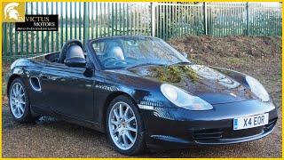 2004 Porsche Boxster 986 2.7 Tiptronic S | Full Tour | Invictus Motors