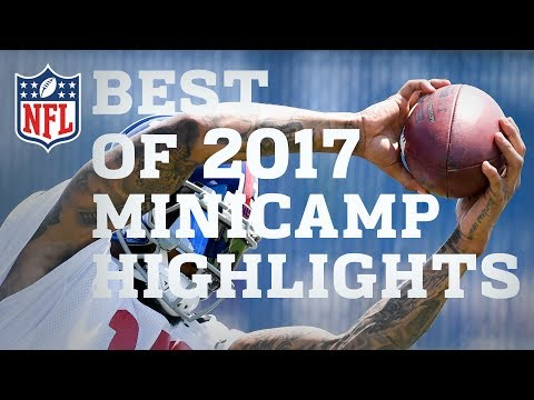 Highlights from 2017 Minicamps! | NFL