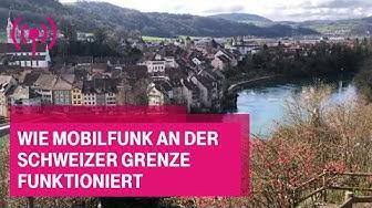 Wie Mobilfunk an der Schweizer Grenze funktioniert