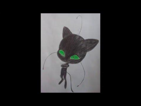 Wie Zeichnet Man Plagg Miraculous Junior Drawing Youtube