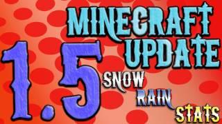 Hatventures - Minecraft 1.5 - Snow! Rain! Stats/Achievements!