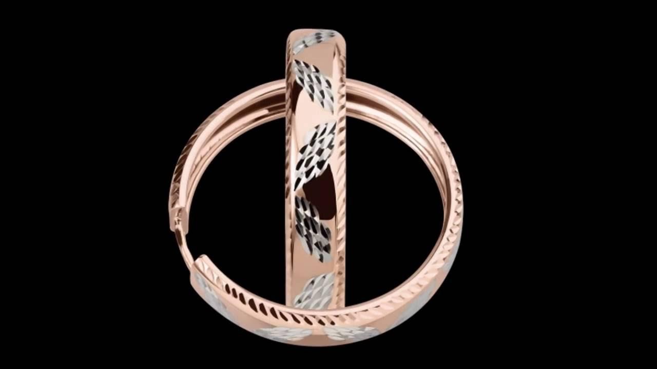 Серьги кольца из золота (иначе их называют «конго») – это яркие и стильные украшения, притягивающие восторженные взгляды окружающих к их обладательнице. Искрящиеся бриллианты в обрамлении драгоценного металла делают такие изделия особенно роскошными. Золотые серьги « конго».
